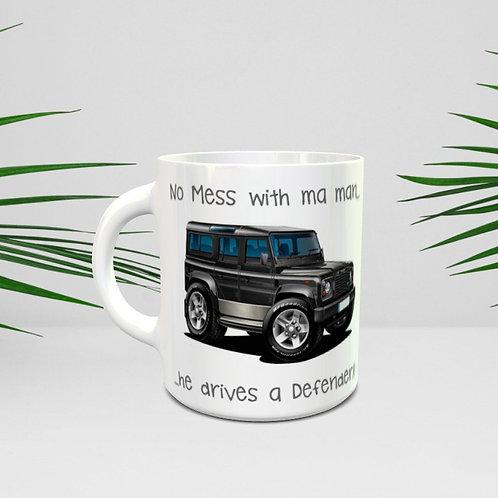 Landrover Defender Mug