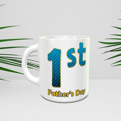 1st Father's Day Mug