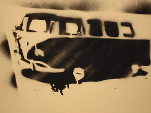 Joe Koller Stencil Graffiti