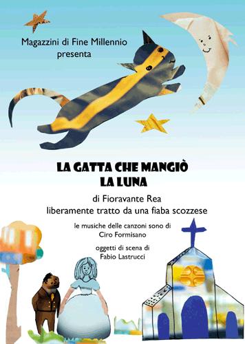 LA GATTA CHE MANGIO' LA LUNA