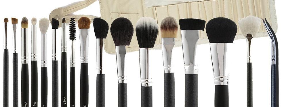 Makeup Brush Set 17 pcs