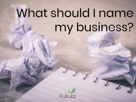 What should I name my business?