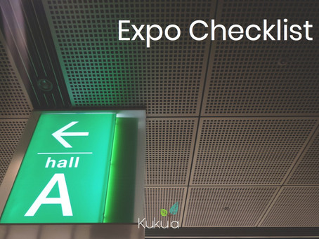 Expo Checklist - Tips & Tricks to get the Best ROI