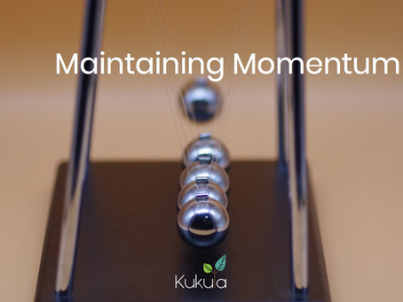 Maintaining Momentum - Marketing when things are slow