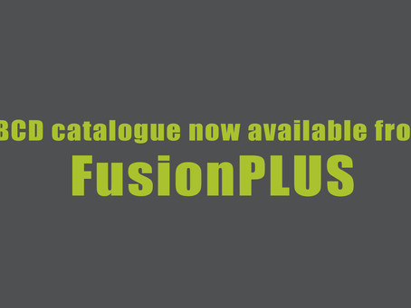 BCD catalogue now available from FusionPLUS