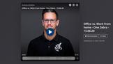Dubai Eye 103.8 radio interview - Work from home V Office - June 2020