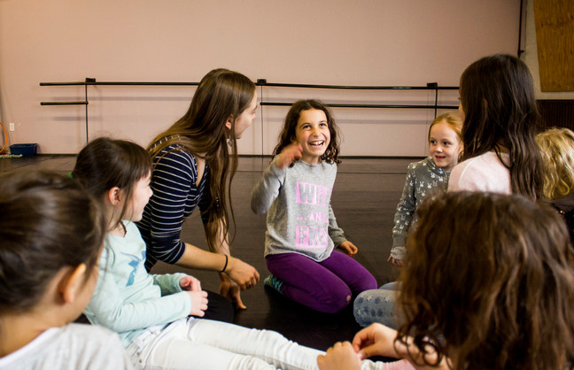 Theatre Arts Program for kids, happening on Sunday's between 12-1pm