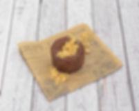 Tartita de chocolate a la naranja - Caprinchos
