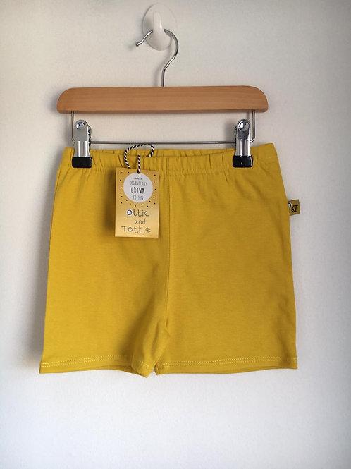 Tottie Mustard shorts