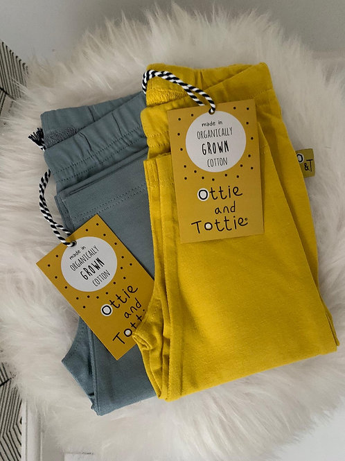 Tottie Mustard Leggings
