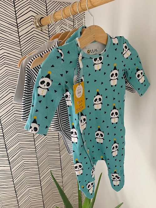 Ottie Teal Lightweight Sleep Suit