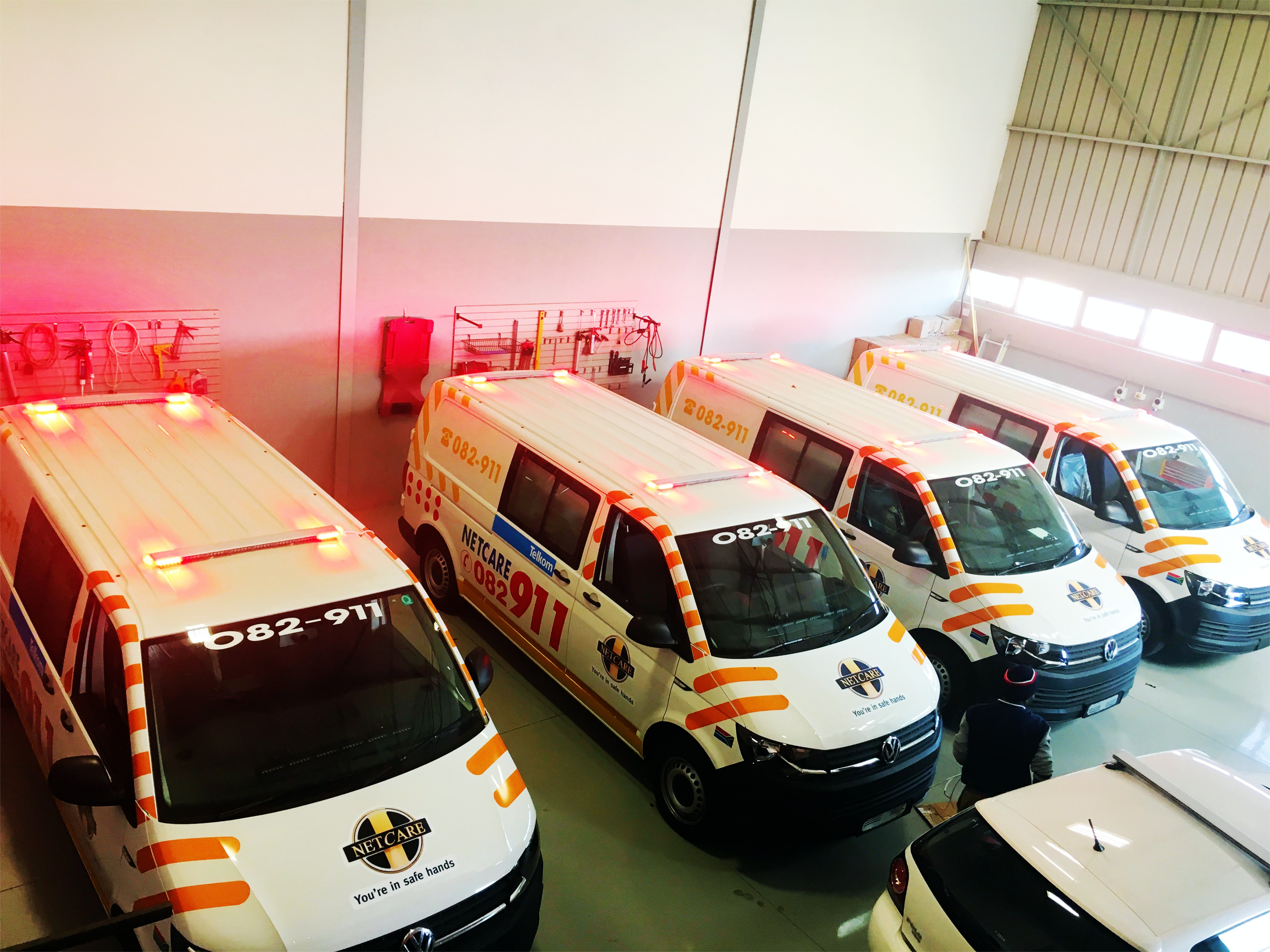 Netcare 911 Ambulances