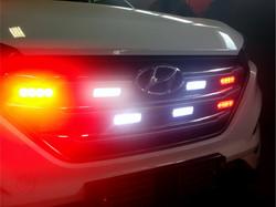 Medical Hyundai Grill Lights ON