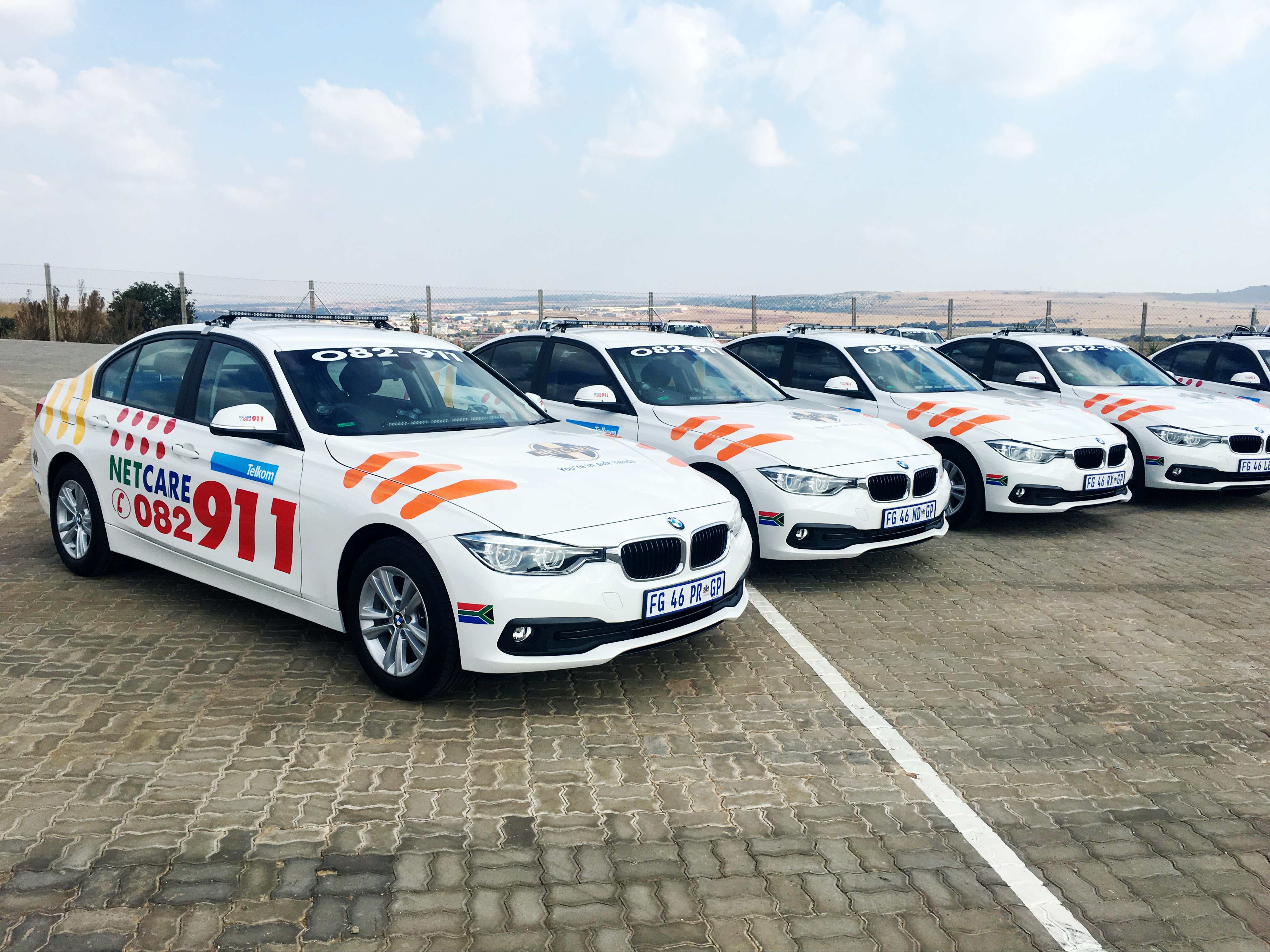 Netcare 911 BMW 3 Series Fleet