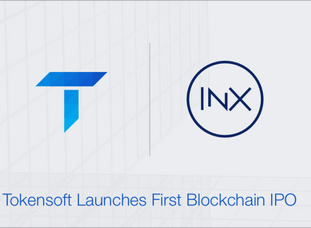 Tokensoft Facilitates Launch of First Blockchain IPO With INX Limited