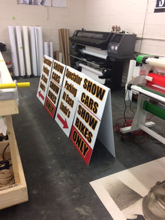 A Frame Signs