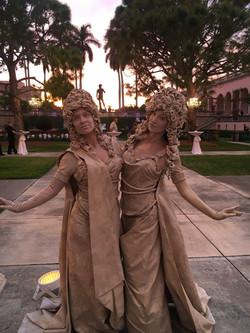 Living Statue Duet