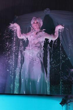 Ice Crystal Fountain