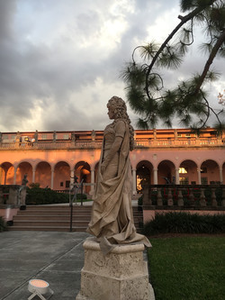 Living Statue at the Ringling Museum