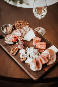 Charcuterie Board made by The Josie Hotel in Rossland BC