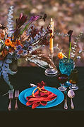 Vibrant Fall Tablescape - fowler photogr