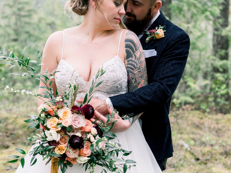 Magical Elopement in the Forests of Revelstoke BC