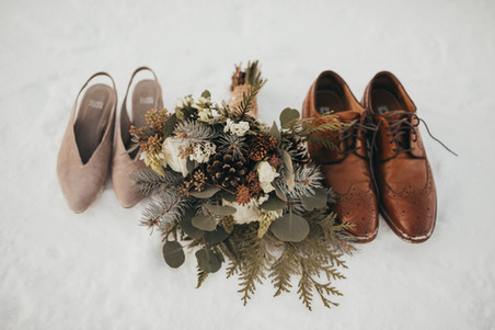 Winter Apre Ski Wedding in Rossland BC planned by Wild Smile Events