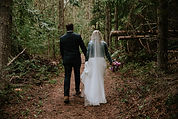 Forest Wedding Bride and Groom - Lota Lo
