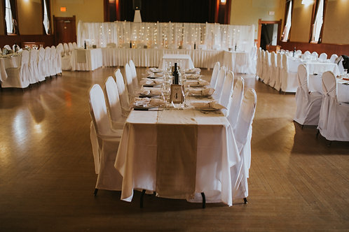 Beige Cotton Table Runners