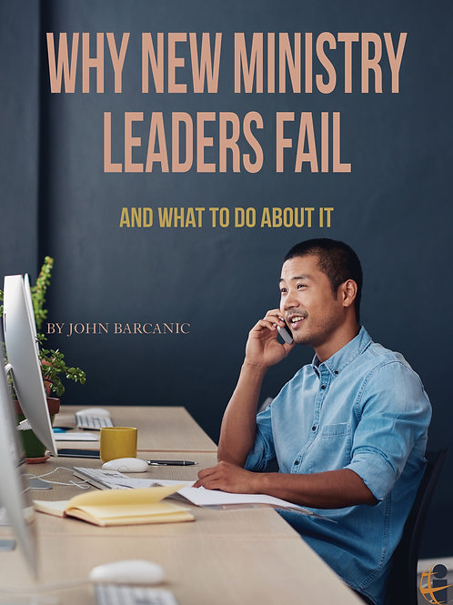 Why New Ministry Leaders Fail