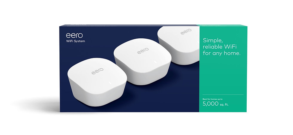 Eeros WiFi Mesh Router 3 pack