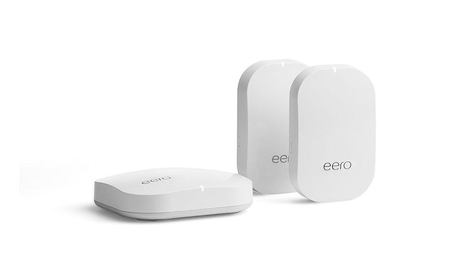 Eeros Pro and 2 Eeros Beacon