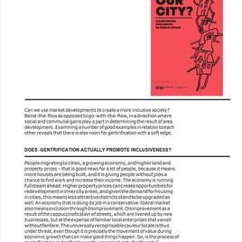 Gebiedseconomie + inclusieve stad = Gentlyfication?!