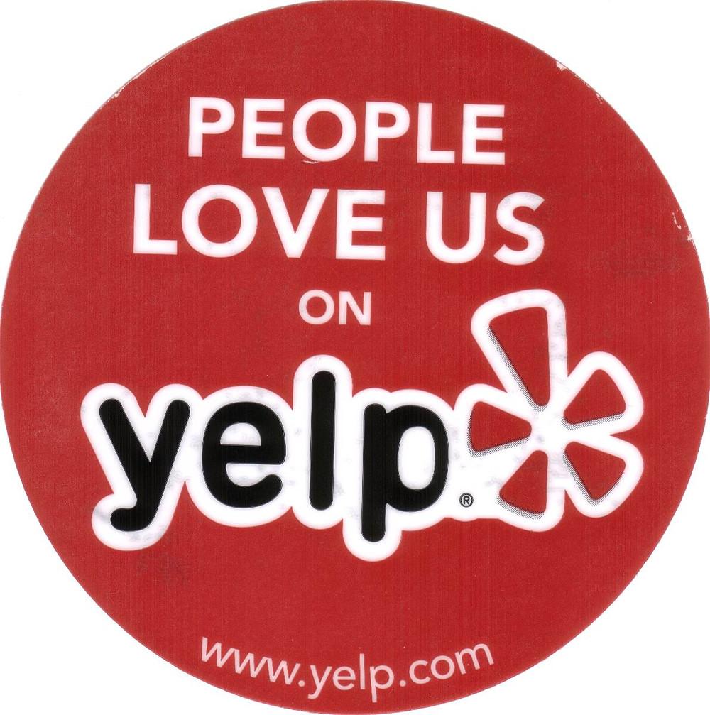 check us out on yelp.com