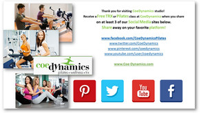 April Pilates Newsletter
