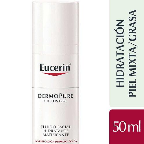 Eucerin Dermopure Oil Control Fluido Facial Hidratante Matificante