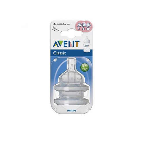 Avent Tetina x 2Un Flujo Variable