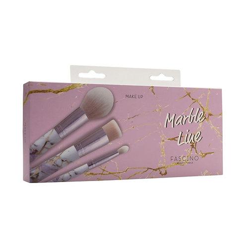 Fascino Set de Brochas Marbel Line Make Up