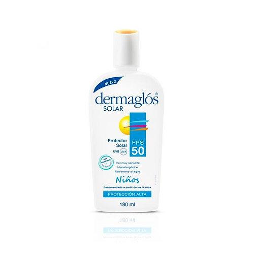 Dermaglos Protector Solar x 180ml Niños F50