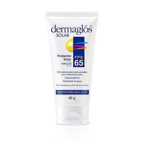 Dermaglos Solar FPS 65 Crema x 90g