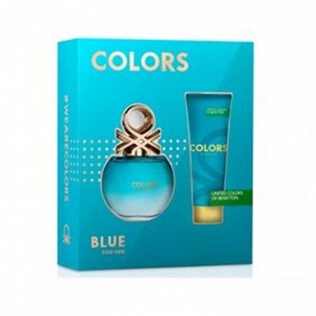 BENETTON COLORS BLUE EST(EDT 80ML+BL 75ML)