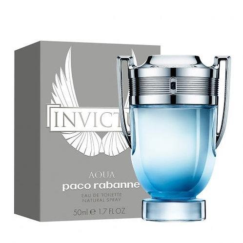 Paco Rabanne Eau De Toilette x 50ml Invictus Aqua