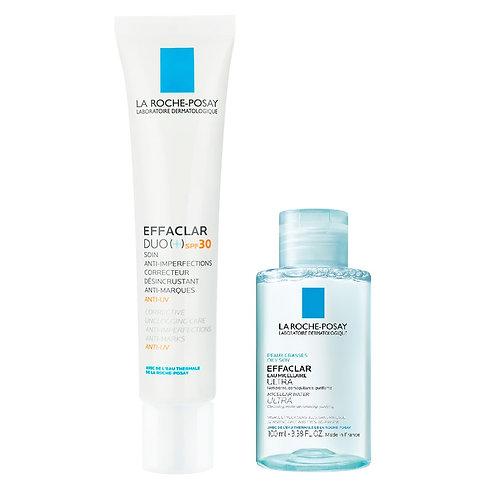 Effaclar Duo [+] FPS 30 La Roche-Posay 40ml + Agua Micelar de Regalo