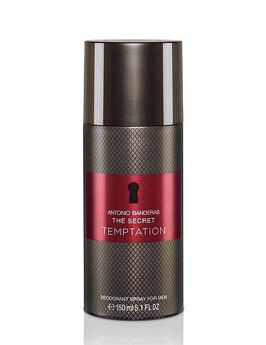Antonio Banderas The Secret Temptation Desodorante Spray 150ml
