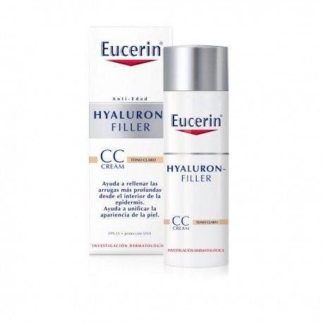 Eucerin Hyaluron-Filler CC Cream Tono Claro Light FPS 15 x 50ml