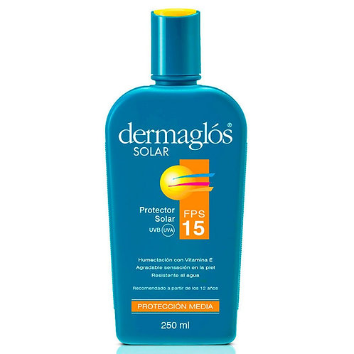 Dermaglos Solar Emulsion FPS15 X 250 ML