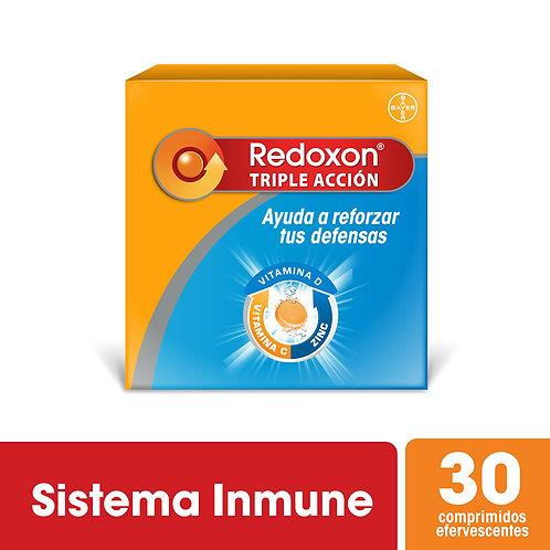 Redoxon Triple Accion Naranja 30 comprimidos efervescentes