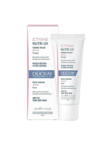 Ducray Ictyane Nutritivo UV 40ml
