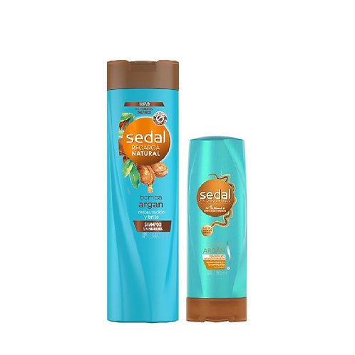 Kit Sedal Bomba Argan Shampoo + Acondicionador