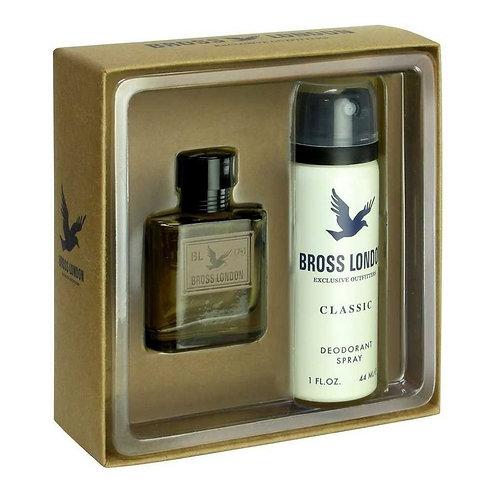 Bross London Classic EDT 15ml + Desodorante 44ml
